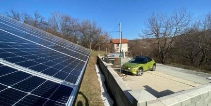 Зарядна станция в с. Долно Вършило (магистрала Тракия)