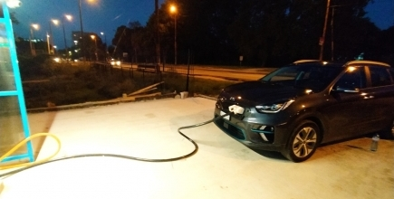 Две зарядни станции очакват електромобили непосредствено до бензиностанция Shell в крайдунавския град Видин